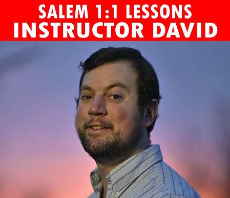 Salem 1:1   Lessons with David (M/W)