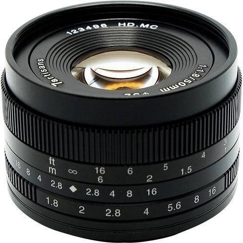 7artisans 50mm f/1.8 Lens for Sony E