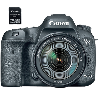 Canon EOS 7D Mark II EF-S 18-135mm IS USM Wi-Fi Kit