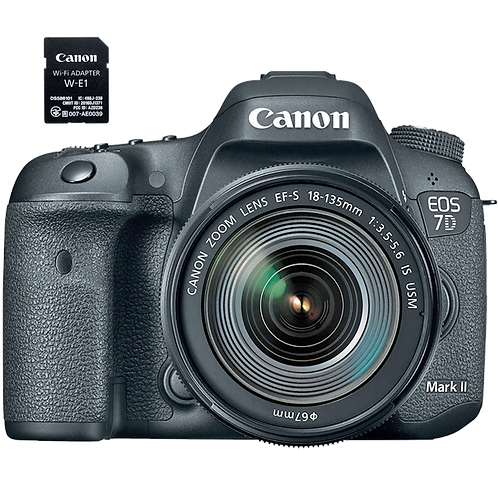 Canon EOS 7D Mark II EF-S 18-135mm IS USM Wi-Fi Kit