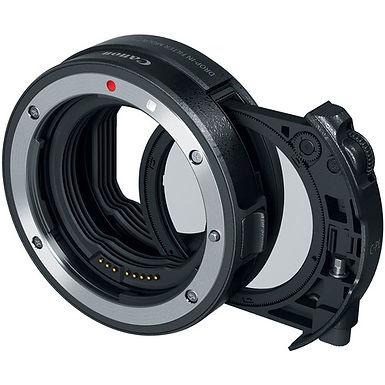 Canon Drop-In Filter Mount Adapter EF-EOS R (Circular Polarizer Filter)