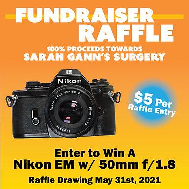 Sarah Gann's Surgery Donation Raffle Entry