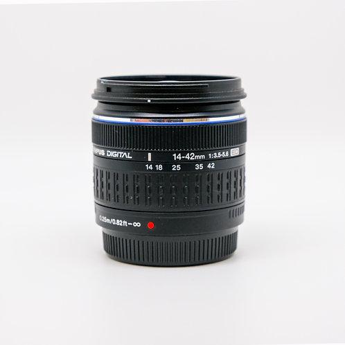 Olympus M.Zuiko Digital 14-42mm f/3.5-5.6 II R Lens (PDX)