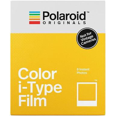 Polaroid Color i-Type Instant Film (8 Exposures)