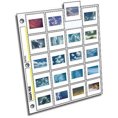 """ClearFile Archival-Plus Slide 35mm (2x2"""") - 25pk"""