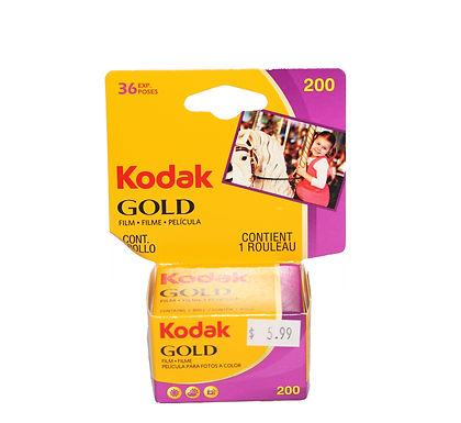 Kodak Gold 200 (1 roll)