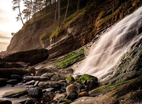 Long Exposure: Waterfalls (by Clara Howell)