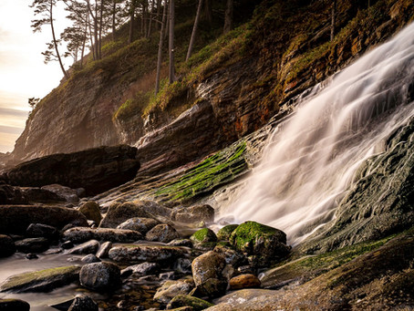 Long Exposure: Waterfalls (by Clara Howell)