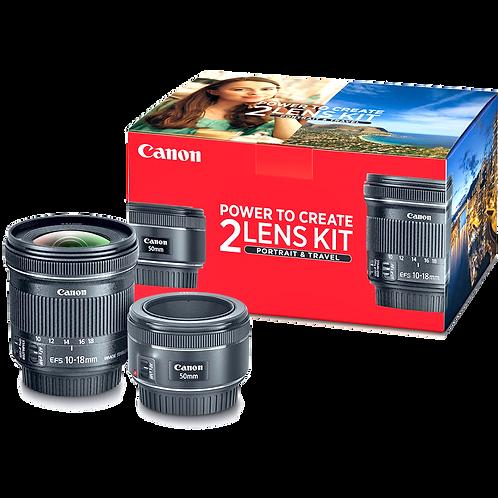 Canon Portrait & Travel 2-Lens Kit