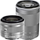Thumbnail: Canon EOS M100 Mirrorless EF-M 15-45mm IS STM + EF-M 55-200 IS STM (White)