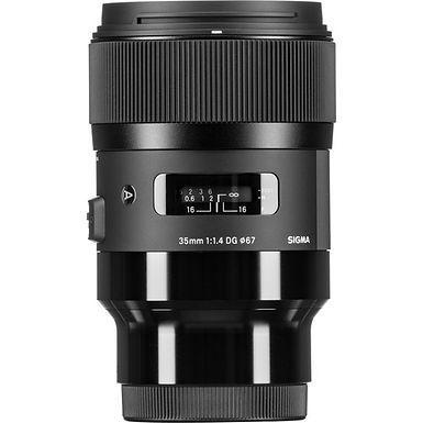 Sigma 35mm f/1.4 DG HSM Art Lens (Sony E)