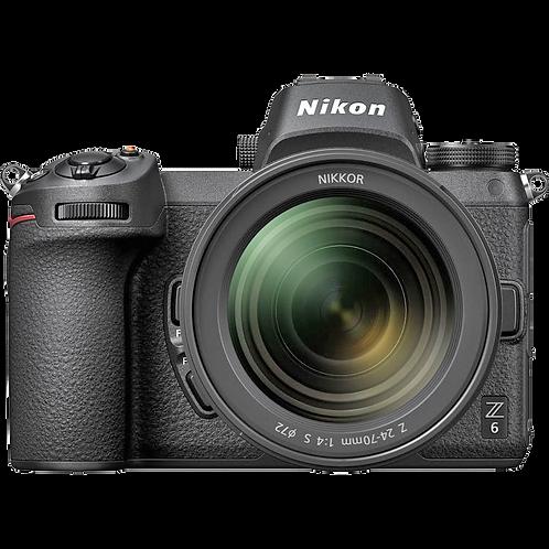Nikon Z6 Mirrorless NIKKOR Z 24-70mm f/4 S Lens