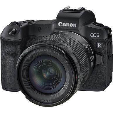 Canon EOS R Mirrorless Camera + RF 24-105mm f/4-7.1 Lens