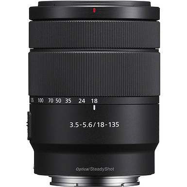 Sony E 18-135mm f/3.5-5.6 OSS Lens