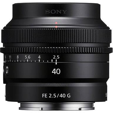 Sony FE 40mm f/2.5 G Lens
