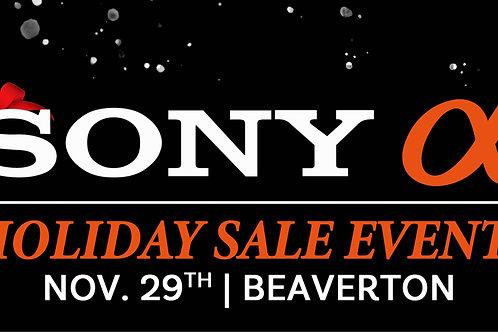 Sony Holiday Sales Event 11/29 | Beaverton