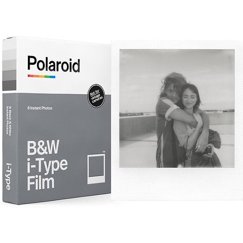 Polaroid B/W i-Type Instant Film (8 Exposures)