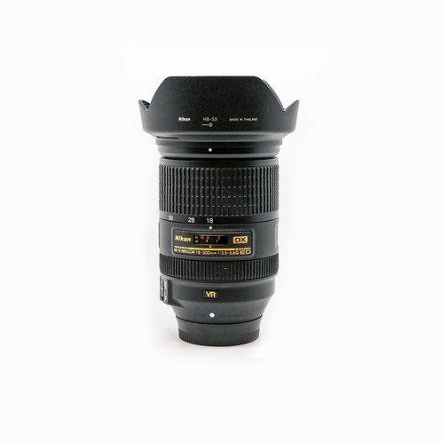 Nikon AF-S DX NIKKOR 18-300mm f/3.5-6.3G ED VR Lens (PDX)