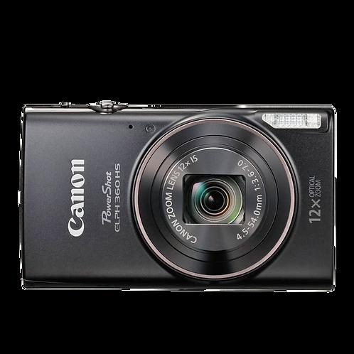 Canon PowerShot ELPH 360 HS (Black)