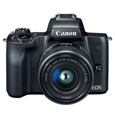 Canon EOS M50 Mirrorless 15-45mm IS STM (Black)
