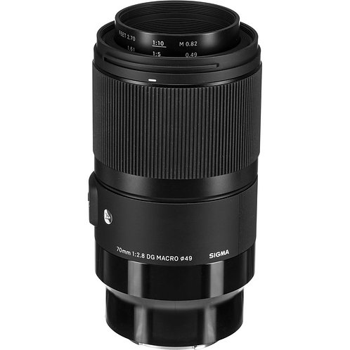 Sigma 70mm f/2.8 DG Macro Art Lens (Sony E)