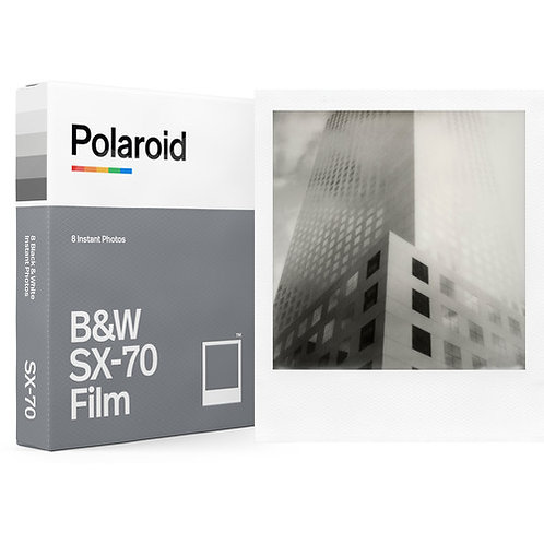 Polaroid Black & White SX-70 Instant Film (8 Exposures)