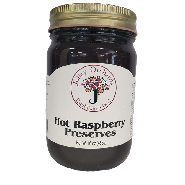 Hot Raspberry Preserves