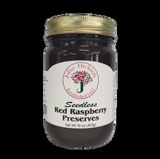 Red Raspberry Seedless Preserves