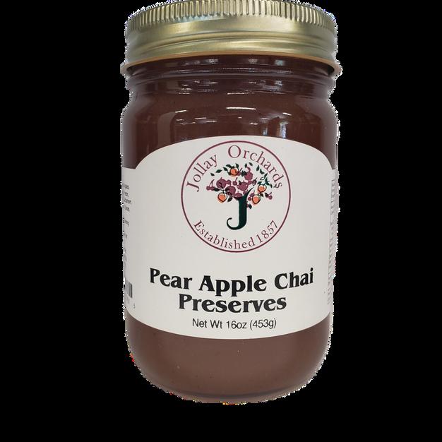 Pear Apple Chai Preserves