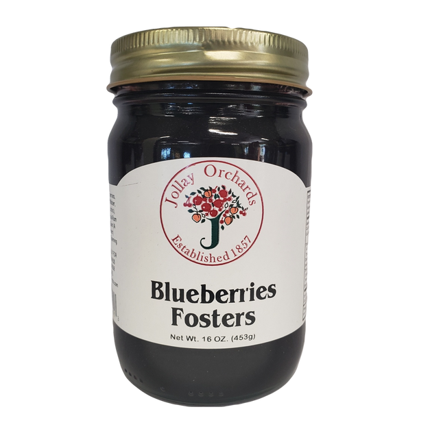 Blueberries Fosters