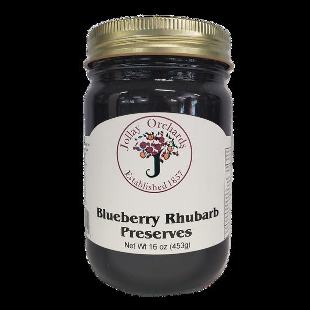 Blueberry Rhubarb Preserves
