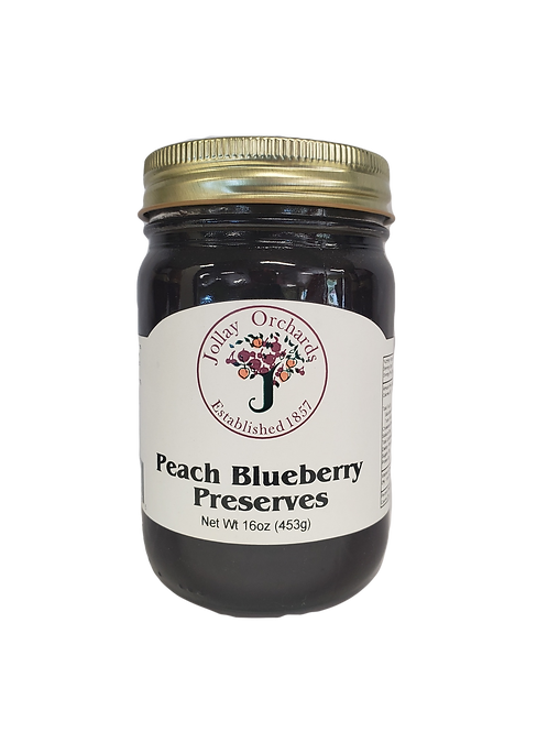 Peach Blueberry Preserves
