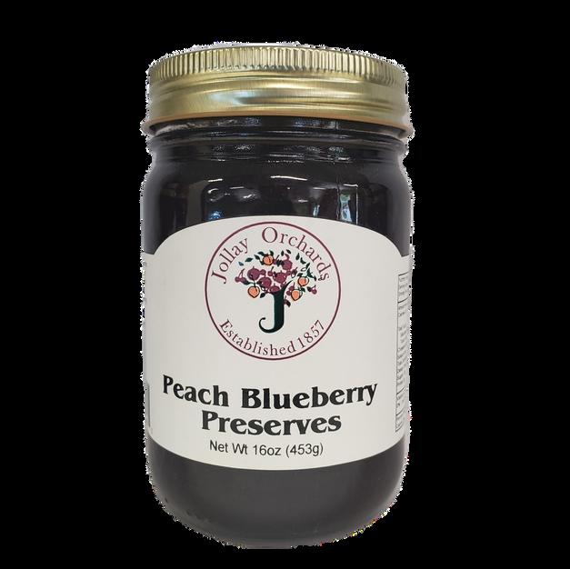 Peach Blueberry Preserves