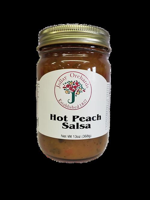 Hot Peach Salsa