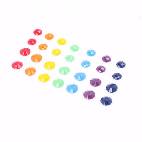 Rainbow Small Stud Earrings