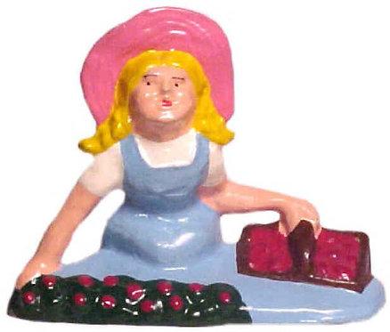 #101 - Girl Picking Berries