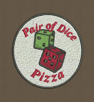 Pair of Dice Pizza
