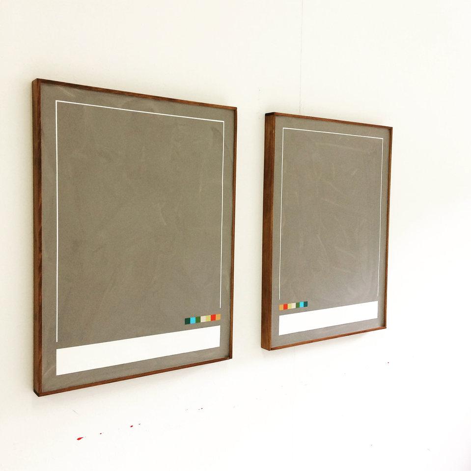 COURSE / 2x, 80x60cm