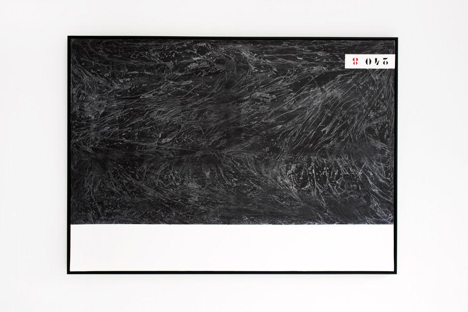 BLACK WATER 2 / 100x140cm