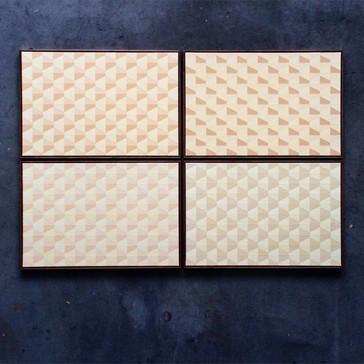 DOWNWIND / 4x, 60x90cm