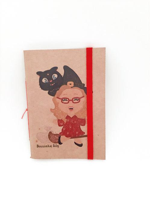 Caderninho Bruxinha e Gato