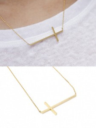 Jesus Cross Necklaces - 20140718022623778