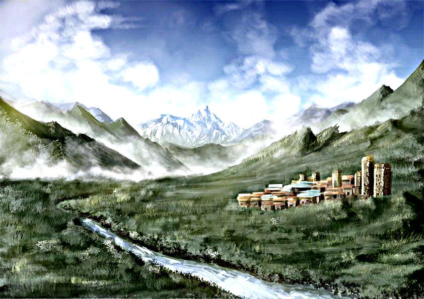 西国・タトゥーパの村