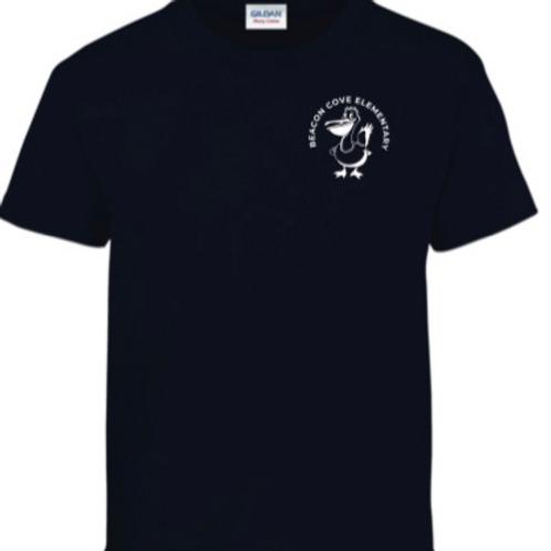 BCI 5th Grade Class of 2021 Cotton Short Sleeve Navy T-Shirt