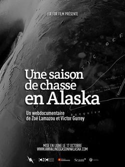 UNE_SAISON_DE_CHASSE_EN_ALASKA_AFFICHE