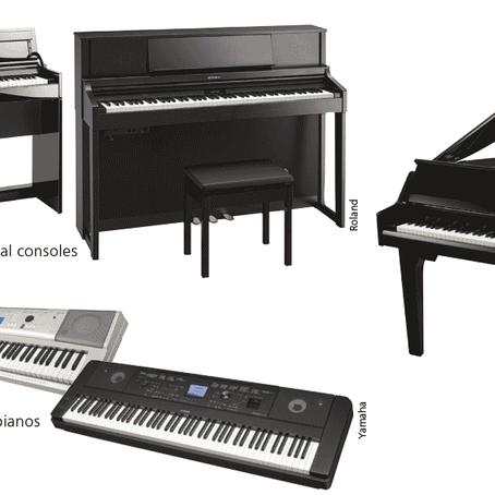 買三角琴、直身琴、電子琴、數碼鋼琴、Midi 或是Synth?