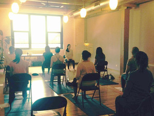 Desk + Chair Yoga Workshop