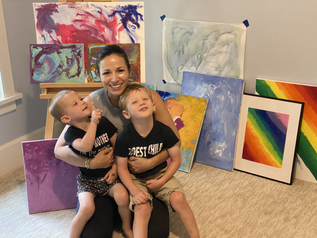 A Note From Nicole: Art + Meditation