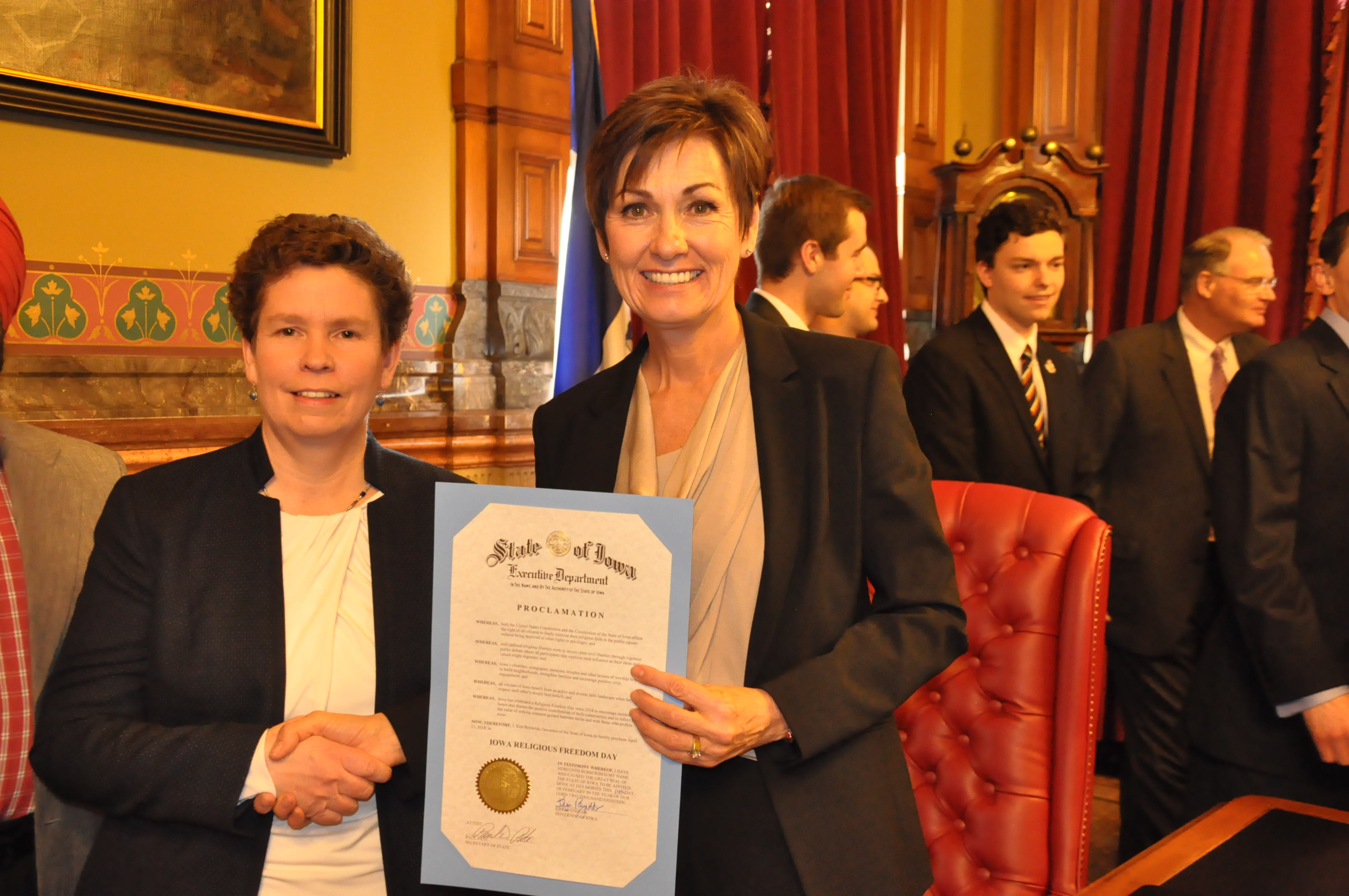 2018 proclamation governor reynolds pres