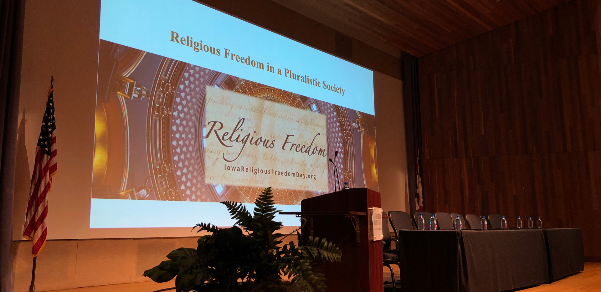 Religious Freedom in a Pluralistic Society
